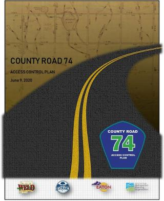County Road 74 Access Control Plan